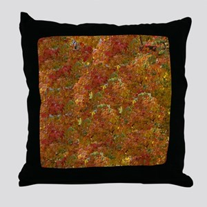 leaves changing Throw Pillow