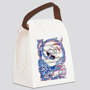 No One Ever Expects the Kraken Canvas Lunch Bag