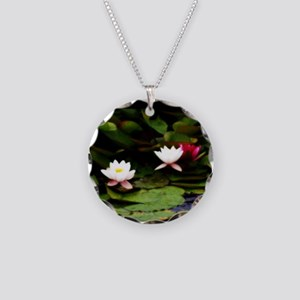 P8240186 normandy flowers.pn Necklace Circle Charm