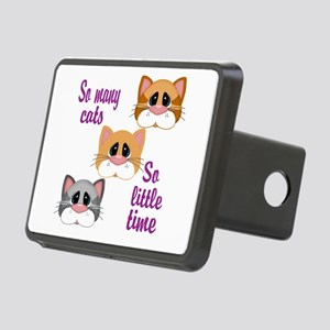 So Many Cats So Little Time Hitch Cover