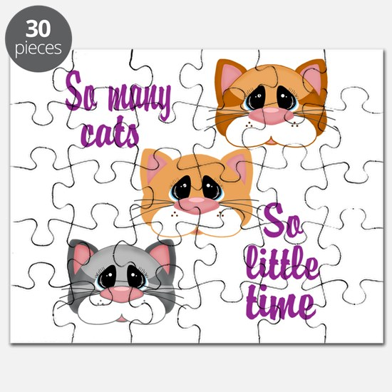So Many Cats So Little Time Puzzle