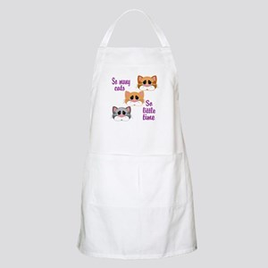 So Many Cats So Little Time Apron