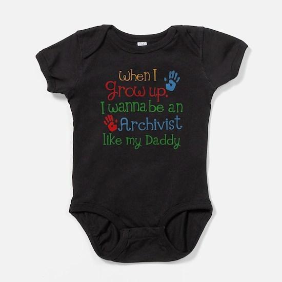 Future Archivist Baby Bodysuit
