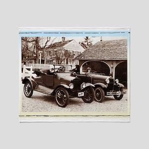 VintageAuto - Throw Blanket