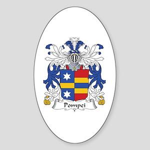 Pompei Oval Sticker