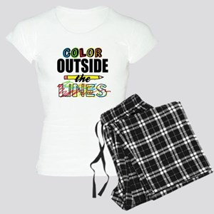Color Outside The Lines Women's Light Pajamas
