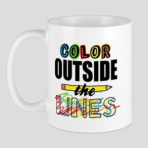 Color Outside The Lines Mug
