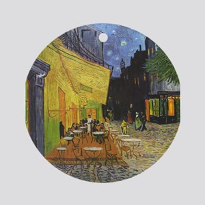 Vincent_Willem_van_Gogh_015 Ornament (Round)