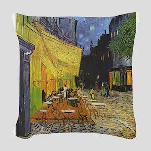 Vincent_Willem_van_Gogh_015 Woven Throw Pillow