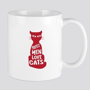 Prrrfect Men Love Cats Mugs