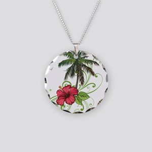 Tree with Hibiscus Necklace