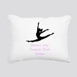 Dancers Leap Towards Their Dreams Rectangular Canv