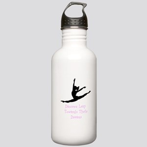 Dancers Leap Towards Their Dreams Water Bottle