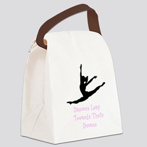 Dancers Leap Towards Their Dreams Canvas Lunch Bag