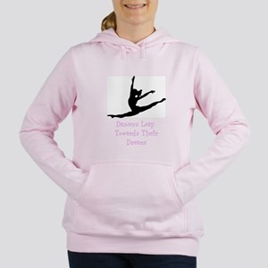Dancers Leap Towards Their Dreams Women's Hooded S