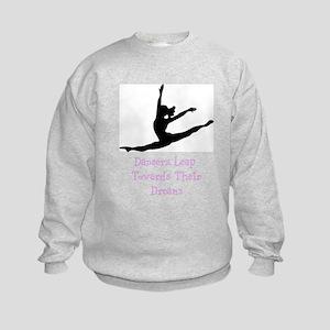 Dancers Leap Towards Their Dreams Sweatshirt