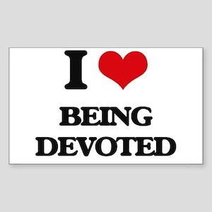 I Love Being Devoted Sticker