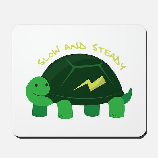 Slow & Steady Mousepad