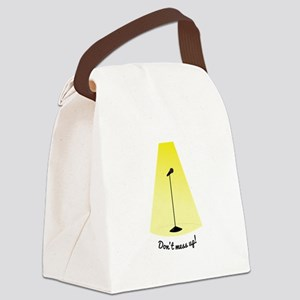 Dont Mess Up Canvas Lunch Bag