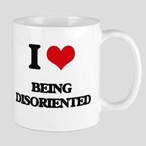 I Love Being Disoriented Mugs