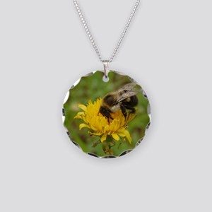 BUMBLE BEE 4 Necklace Circle Charm