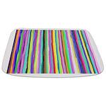Drippy Trippy Rainbow Bathmat