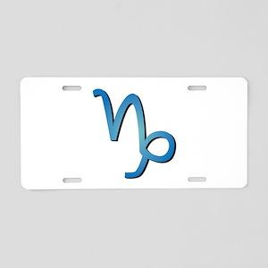 Capricorn Aluminum License Plate
