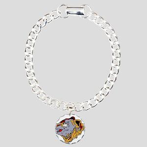 201sq_patch Charm Bracelet, One Charm