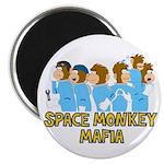 Space Monkey Mafia Magnet