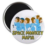 "Space Monkey Mafia 2.25"" Magnet (10 pack)"