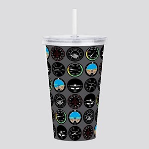 Flight Instruments Acrylic Double-wall Tumbler