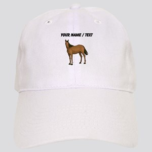 Custom Brown Horse Baseball Cap