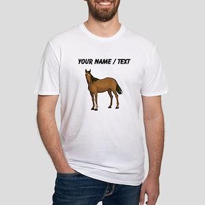 Custom Brown Horse T-Shirt