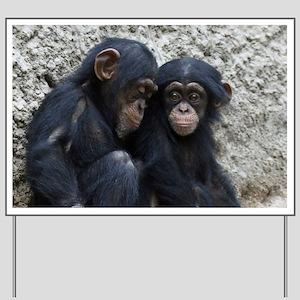 Chimpanzee002 Yard Sign
