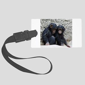 Chimpanzee002 Large Luggage Tag