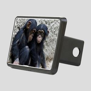 Chimpanzee002 Rectangular Hitch Cover