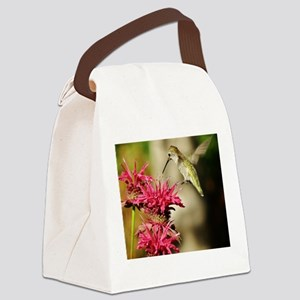 """OH WHAT JOY"" Canvas Lunch Bag"
