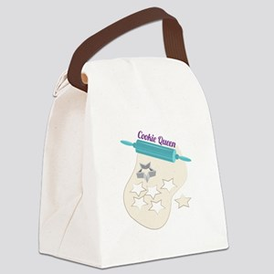 Cookie Queen Canvas Lunch Bag