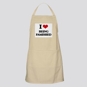 I Love Being Famished Apron