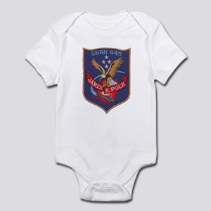 USS JAMES K. POLK Infant Bodysuit