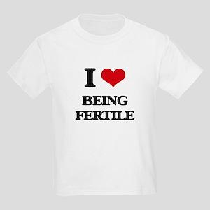 I Love Being Fertile T-Shirt