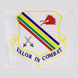 354th Fighter Wing Throw Blanket
