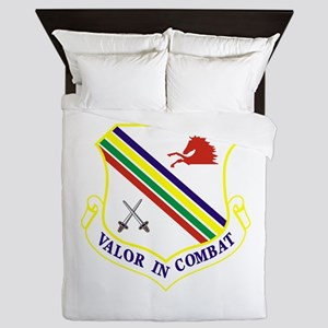 354th Fighter Wing Queen Duvet