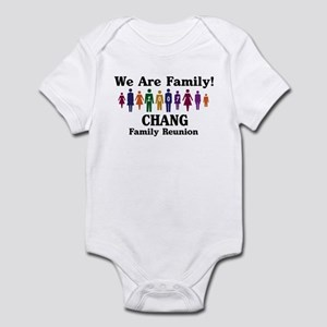 CHANG reunion (we are family) Infant Bodysuit