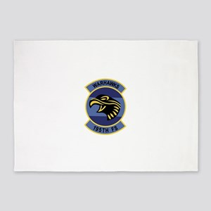fighter_squadron_patch195 1 5'x7'Area Rug