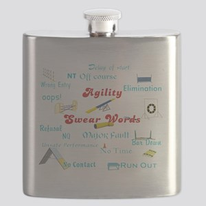 Agility Swear Words Flask