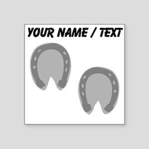 Custom Hoof Prints Sticker