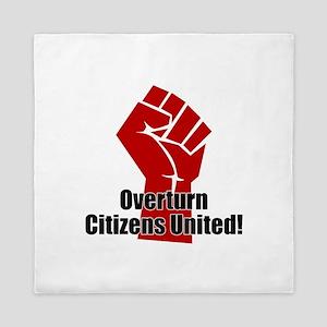 Citizens United Queen Duvet