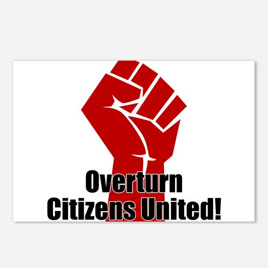Citizens United Postcards (Package of 8)