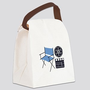Movie Director Canvas Lunch Bag